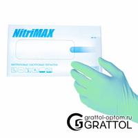 Перчатки NitriMAX (блок)  ЗЕЛЕНЫЕ - S