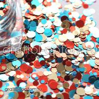 Камифубуки (конфетти) для дизайна Арт. 068
