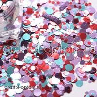 Камифубуки (конфетти) для дизайна Арт. 074
