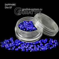 СТРАЗЫ  Sapphire (150шт)   DIA 007