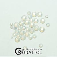 СТРАЗЫ  White Opal  (200шт)   DIA046