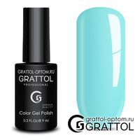 Гель-лак Grattol Color Gel Polish - тон  №124 Aquamarine