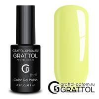 Гель-лак Grattol Color Gel Polish - тон  №125 Light Yellow