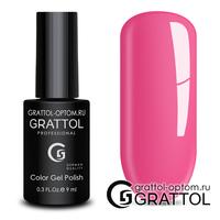 Гель-лак Grattol Color Gel Polish - тон  №128 Hot Pink