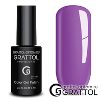 Гель-лак Grattol Color Gel Polish - тон  №130 Dark Fuchsia