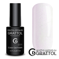Гель-лак Grattol Color Gel Polish - тон  №154 Milk Pearl