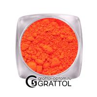 Неоновый пигмент N-009 (темно-оранжевый)