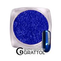 Втирка хром LUX   AS004  (синий)