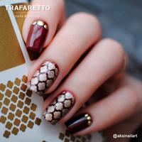 Трафарет для дизайна ногтей Trafaretto. Марокко
