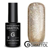 Гель-лак  Grattol  Bright - Cristal 01