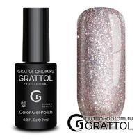 Гель-лак  Grattol  Bright - Cristal 02