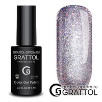 Гель-лак  Grattol  Bright - Cristal 03