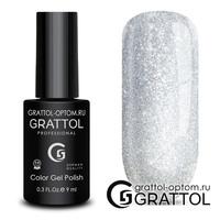 Гель-лак  Grattol  Bright - Silver