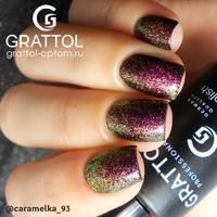 Гель-лак Grattol Galaxy - тон №003 Garnet