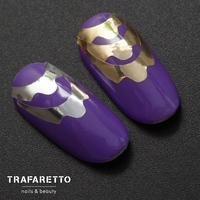 Металлизированные наклейки TRAFARETTO. Арт. CL-08, Золото