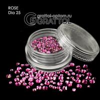 СТРАЗЫ  Rose (150шт)   DIA 025