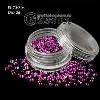 СТРАЗЫ  Fuchsia  (150шт)   DIA 026