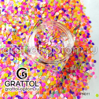 Неоновые камифубуки (конфетти) для дизайна Арт. 011