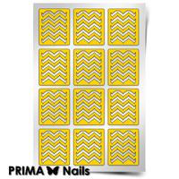 Трафарет для дизайна ногтей PrimaNails. Эффект водного маникюра