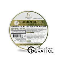 Grattol Premium Hand cream wax Neroli & Вasil КРЕМ-ВОСК  ДЛЯ РУК с ароматом нероли и базилика, 50 мл