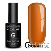 Гель-лак Grattol Color Gel Polish - тон  №182 Amber