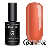Гель-лак Grattol Color Gel Polish - тон  №184 Orange Sherbet