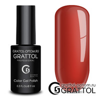 Гель-лак Grattol Color Gel Polish - тон  №186 Ochre