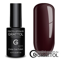 Гель-лак Grattol Color Gel Polish - тон  №188 Mahagon