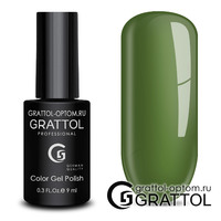 Гель-лак Grattol Color Gel Polish - тон  №190 Green Fern