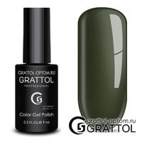 Гель-лак Grattol Color Gel Polish - тон  №191 Olive