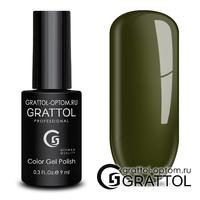 Гель-лак Grattol Color Gel Polish - тон  №192 Dark Olive
