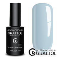 Гель-лак Grattol Color Gel Polish - тон  №113 Powder Blue