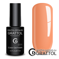 Гель-лак Grattol Color Gel Polish - тон  №120 Sunny Orange