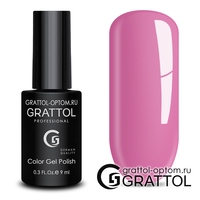 Гель-лак Grattol Color Gel Polish - тон  №129 Beautiful Rose