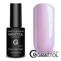 Гель-лак Grattol Color Gel Polish - тон  №155 Violet Pearl