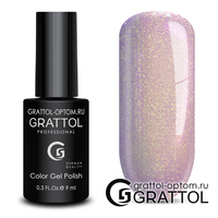 Гель-лак Grattol Color Gel Polish - тон  №157 Lilac Golden Pearl