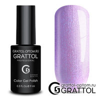 Гель-лак Grattol Color Gel Polish - тон  №161 Wisteria Pearl