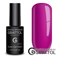 Гель-лак Grattol Color Gel Polish - тон  №166 Ultra Fuchsia