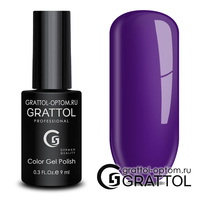 Гель-лак Grattol Color Gel Polish - тон  №168 Ultra Violet