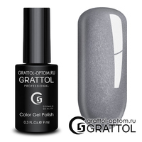 Гель-лак Grattol Color Gel Polish - тон  №174 Iron