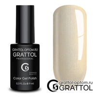 Гель-лак Grattol Color Gel Polish - тон  №175 Smoky Gold