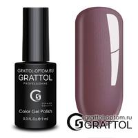 Гель-лак Grattol Color Gel Polish - тон  №176 Smoky Bordeaux