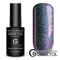 Гель-лак Grattol Galaxy - тон №001 Emerald