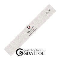 Пилка Grattol премиум качества Классическая  180/240 (белая)
