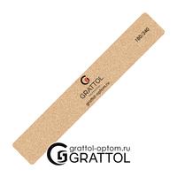 Пилка Grattol премиум качества Классическвя  180/240 (песочная)