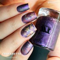 Трафарет для дизайна ногтей Trafaretto. Звездочет