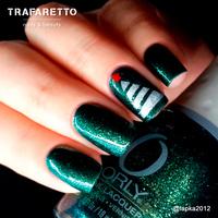 Трафарет для дизайна ногтей Trafaretto. Новогоднее чудо