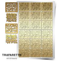 Трафарет для дизайна ногтей Trafaretto. Лепестки