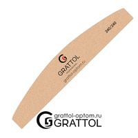 Пилка Grattol премиум качества Лодка  240/240 (песочная)