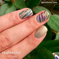 Трафарет для дизайна ногтей Trafaretto. Джунгли